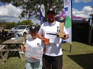 Layla and Terry Allwood of Wondai Laya won the 2017 Juniors grand Final and Terry won the Seniors Grand Final 2017